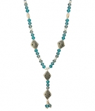 NSS21-126 Celitc Bead Necklace SS