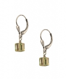 ESS21-150    Swarovski Cube Earrings SS