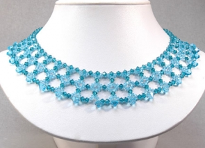 NSS21-65 Swarovski Crystal Necklace
