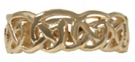 RG-156  Gold Celtic Band 14KY