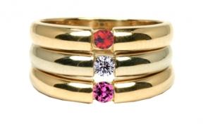 RG-330  Mother's Stackable Ring