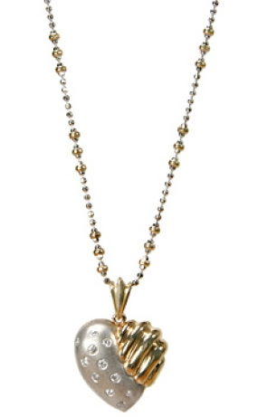 PTTI-71  Diamond Heart Pendant 14K