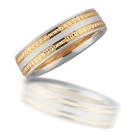NS1085-6GCET Novell Wedding Band