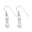 QRSER1 Sterling Silver Reflections Short Earring