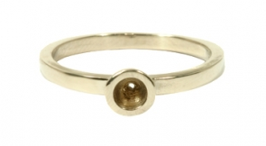 RG-337  Mother's Stackable Ring 14K