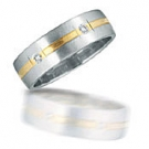 PS1605-6GC Novell Wedding Band